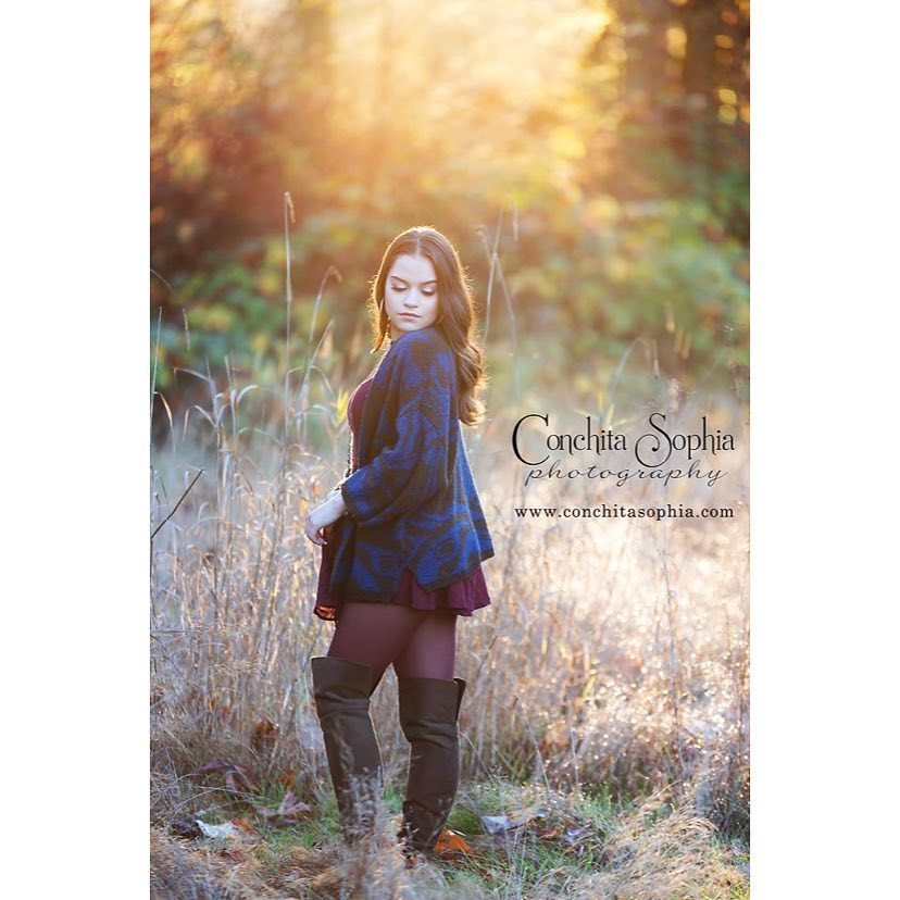 The most perfect sun lit field for Jessicas Senior Session!!hellip